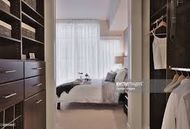 walkin closet in luxury master bedroom stock photo getty images