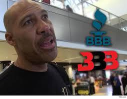 bureau d ude b on arm big baller brand gets f rating from bbb customers beware tmz com