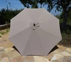 Grey Patio Umbrella Pebble Living 9 Tilt And Crank Patio Umbrella