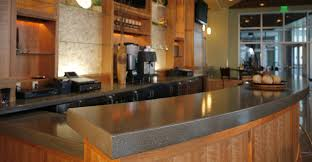 Bar Counter Top Concrete Bar Top By Curt M Cheng Concrete Exchange