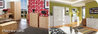 Bedroom Furniture RCN Furnishings - Ready assembled white bedroom furniture
