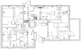 astounding house plan with electrical layout contemporary best