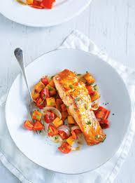 la cuisine de ricardo recette de saumon au chutney à la mangue de ricardo recettes