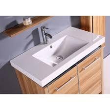 Resin Kitchen Sinks Resin 31 5 Inch Light Maple Single Sink Bathroom Vanity Free