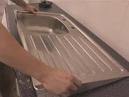 How To Install A Kitchen Sink Into A Worktop YouTube - Fitting a kitchen sink