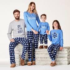 matching family hanukkah pajamas sleepwear mommematch