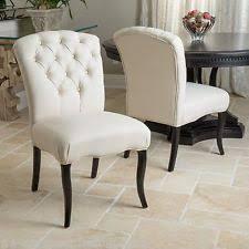 fabric dining chairs ebay