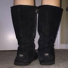 zipper ugg boots sale find more black ugg boots with zipper size 10 40 for sale