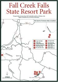 fall creek falls map sherpa guides tennessee the tennessee mountains lower