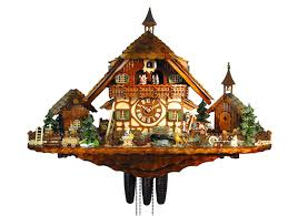 chalet 8 day goat s farm cuckoo clock with 55cm by