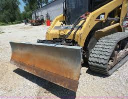new holland skid steer dozer blade item bz9673 sold sep