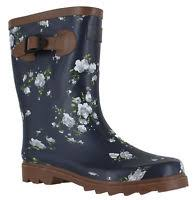 womens wellington boots size 9 joules womens wellington boots navy beau bloom rubber mid
