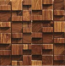 3d wooden mosaic tiles interior design wall tiles building