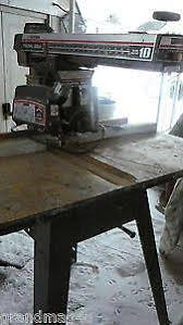 Craftsman Radial Arm Saw Table Craftsman Radial Arm Saw Ebay