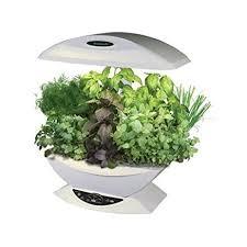 amazon com aerogarden 7 pod indoor garden with gourmet herb seed