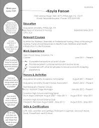 Graduate Nurse Resume Example Nursing Pinterest Optimal Resume Sanford Brown Http Topresume Info Optimal
