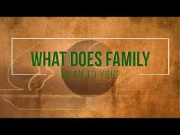what does family to you thanksgiving 2017