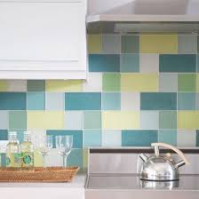 yellow kitchen backsplash ideas kitchen backsplash ideas glass blocks teal and blue yellow