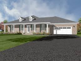 Hip Style Roof Design Cyrus Ranch Home Plan 069d 0121 House Plans And More