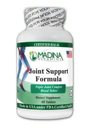 Joint Comfort Dietary Supplement Certified Halal Joint Support Formula 60 Tablet Madina Vitam