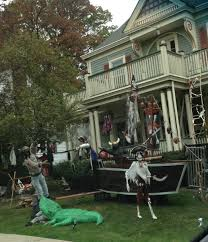 Home Decorations For Halloween by Most Spooktacular Halloween Houses In New Jersey
