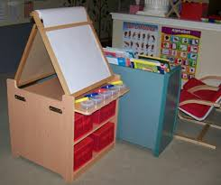 guidecraft desk to easel art cart review and giveaway planet