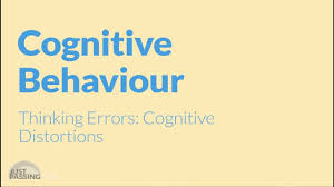 cbt cognitive distortions animation youtube