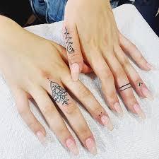 thumb and finger tattoos golfian com