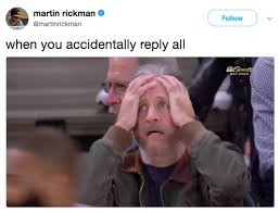 reply all jon stewart knicks reaction know your meme