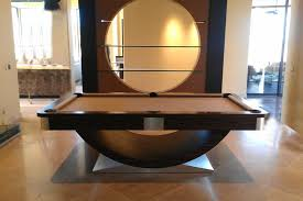 high end pool tables los angeles contemporary pool tables family room with custom game