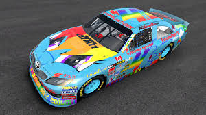 rainbow cars mlp friendship in nascar restart rainbow dash 1 by acspeeddemon