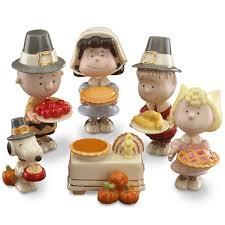 http www lenox peanuts 8482 thanksgiving 6 pc figurine set