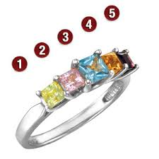 silver mothers ring sterling silver garland princess s ring jewelers