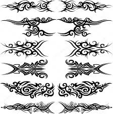 maori tribal tattoo u2014 stock vector ziamary 15544081