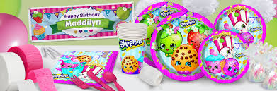 Halloween Birthday Party Supplies Shopkins Party Supplies Shindigz