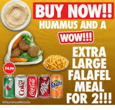 You Re A Towel Meme - buy now hummus and a wow extra large falafel 0meal for 2