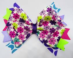 flower bow flower bows etsy