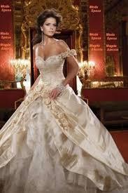 golden wedding dresses 14 gorgeous white and gold wedding dress getfashionideas