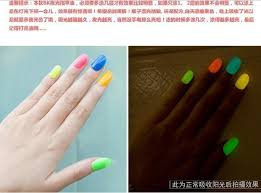 20 colors noctilucent fluorescent nail polish neon glow in dark