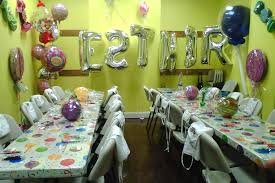 home decor awesome simple birthday decorations at home room