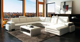 magasin but canapé canape d angle en cuir deco in panoramique blanc 10 places