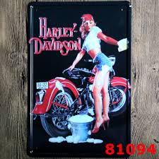 Wholesale Vintage Home Decor by Online Buy Wholesale Harley Tin Sign From China Harley Tin Sign