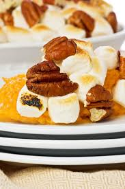 thanksgiving yams with marshmallows recipe candied sweet potato casserole with marshmallows kitchme