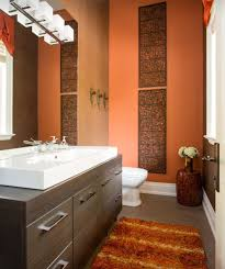 Bathrooms Painted Brown Best 25 Burnt Orange Bathrooms Ideas On Pinterest Burnt Orange