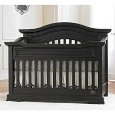 Bonavita Convertible Crib Bonavita Belmont Lifestyle Crib Distressed Black Baby