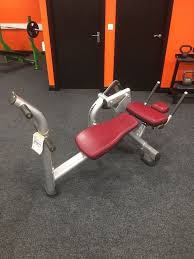 life fitness signature abb crunch bench forsale in ballymoney