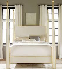 interior home scapes abstract bed with gold leaf trim from interior home scapes