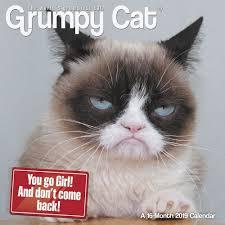 Grumpy Cat Mini Wall Calendar - grumpy cat 2019 mini wall calendar calendars com