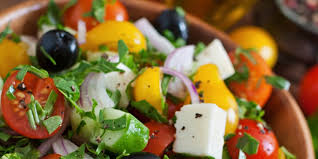 happy thanksgiving in greek greek salad recipe epicurious com