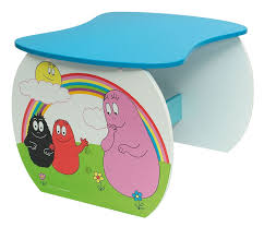 acheter barbapapa table bureau barbapapa